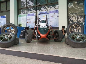 IIT Students Build Car To Promote Safe Racing — Sprints From 0-60km/h In 6 Seconds