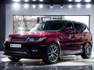 This Montalcino Red Range Rover Sport By Kahn Design Is Luxury Personified