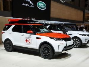 2017 Geneva Motor Show: Land Rover Discovery Project Hero For Search & Rescue Revealed