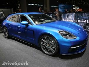 2017 Geneva Motor Show: Porsche Unveils Panamera Sport Turismo Estate