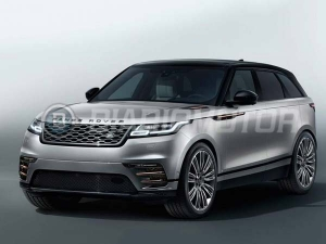 Range Rover Velar Images Leaked Ahead Of Reveal — Will It Trouble The Macan?