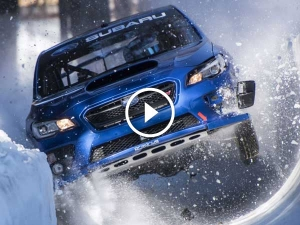 Subaru WRX STI Barrels Down A Bobsled Run — The Craziest Off-Road Stunt Ever?