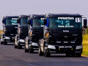 Tata Prima Race Trucks Now Ready To Hit The Race Track