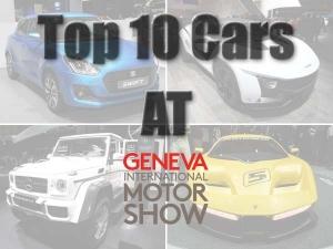 Top 10 Cars Of The 2017 Geneva Motor Show