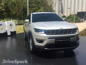 India-Made Jeep Compass To Be Exported To Right-Hand Drive Global Markets