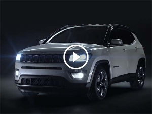 Jeep Compass Teased Ahead Of India Launch