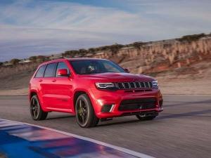Jeep Grand Cherokee Trackhawk Revealed — Fastest Production Series SUV?