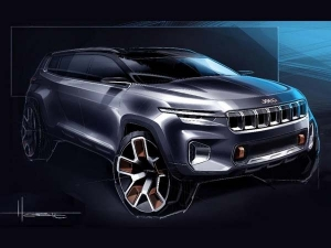 Jeep Yuntu 7-Seater SUV Concept Teased Ahead Of Unveil