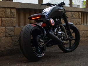 Bulleteer Customs Presents The Americana — Captain America's Ride?