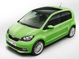 Skoda Reveals Its First All-Electric Production Model