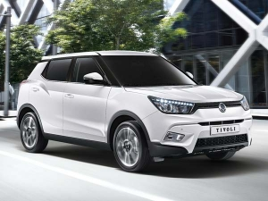 Spy Pics: SsangYong Tivoli Spotted In India
