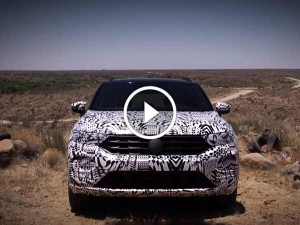 Volkswagen T-Roc Teased In An Official Video