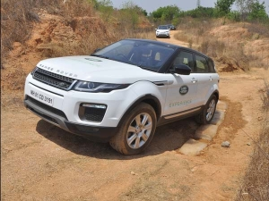 Land Rover Off-Road Drive Experience Comes To Bangalore