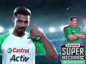 Ravindra Jadeja Launches Castrol Super Mechanic Contest