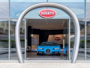 World's Largest Bugatti Showroom Opens