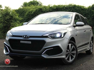 This Modified Hyundai i20 With A GT Styling Kit Looks Stunning