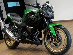 2017 Kawasaki Z250 Pictures Reveal New Paint Scheme