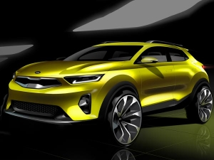 Kia Previews Stonic Compact SUV; Could Make Its Way To India