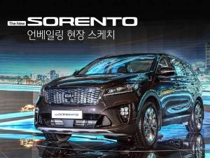 India-Bound Kia Motors Introduces Sorento Facelift