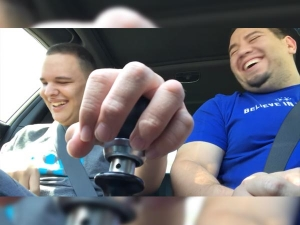 Blind & Autistic Boy Shifting Gears In A Subaru WRX STi Will Bring A Tear To Your Eyes