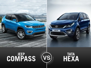 Jeep Compass Vs Tata Hexa Comparison — A Close Fought Battle
