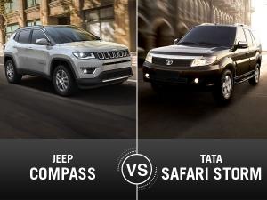 Jeep Compass Vs Tata Safari Comparison — Has The Old Made Way For The New?