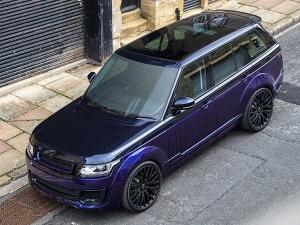 Kahn Design Reveals Range Rover Vogue SE Pace Car