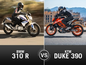 New 2017 KTM Duke 390 vs BMW G310 R Comparison: The Much Awaited Street Bike Comparo