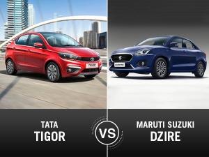 New Maruti Suzuki Dzire vs Tata Tigor — Compact Sedan Comparison