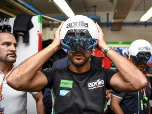 Here's A Look At Aprilia's New Augmented Reality MotoGP Helmet — The Future Of MotoGP?