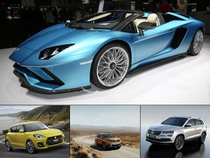 India-Bound Cars From The 2017 Frankfurt Motor Show