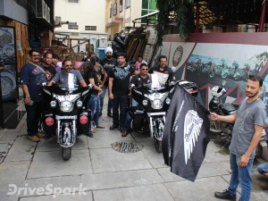 Indian Motorcycle Flags Off Kashmir To Kanyakumari (K2K) Fundraiser Ride