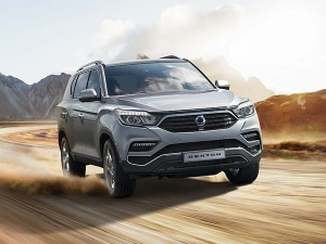 Mahindra Reveals India Launch Details Of The All-New SsangYong Rexton SUV