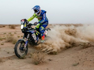 Sherco TVS Riders Dominate Stage 2 Of Panafrica Rally