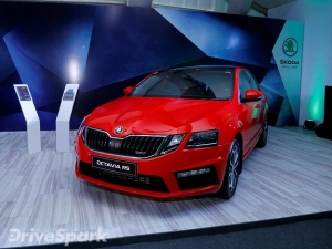 Skoda Octavia RS Launched In India For Rs 24.62 Lakh
