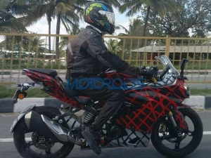 Spy Pics: TVS Apache RR 310S Spotted Again; Launch Likely By This Year End