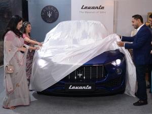 A Royal Sneak Peek: Maserati Previews Levante SUV In Delhi