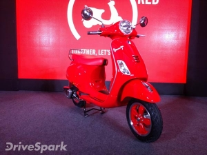 Vespa RED Launched In India; Priced At Rs 87,009