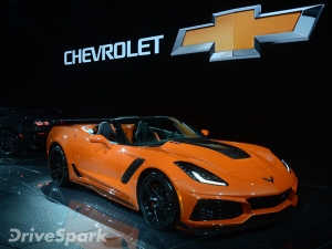2017 Los Angeles Auto Show: Chevrolet Corvette ZR1 Convertible Unveiled