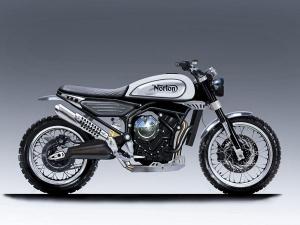 Norton Reveals New 650cc Scrambler Concept