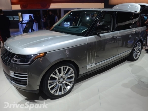 2017 Los Angeles Auto Show: New Range Rover SVAutobiography Unveiled