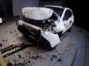 2017 Dacia Duster Scores 3-Star Rating In Euro NCAP Crash Test