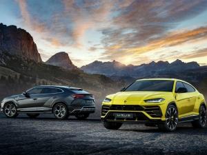 Lamborghini Urus SUV Revealed