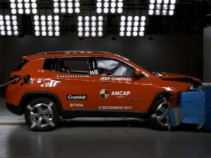 Made-In-India Jeep Compass Scores A Brilliant 5-Star Safety Rating By ANCAP