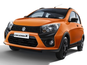 Maruti CelerioX Launched In India; Prices Start At Rs 4.57 Lakh