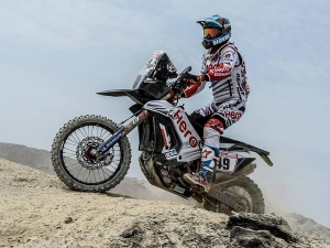 Dakar 2018: CS Santosh And Stage 6 Updates
