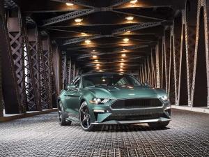 2018 Detroit Auto Show: Ford Revives Famed Steve McQueen's Mustang Bullitt