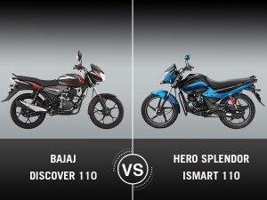 Bajaj Discover 110 Vs. Hero Splendor iSmart 110 — Which One Commutes Better?