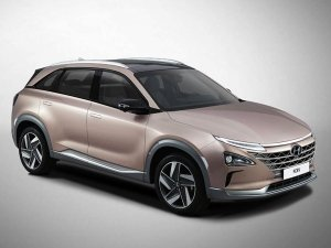 Hyundai Unveils New-Generation Hydrogen Fuel Cell Electric SUV