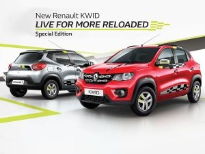 Renault Kwid Live For More Reloaded 2018 Edition Launched In India; Prices Start At Rs 2.66 Lakh